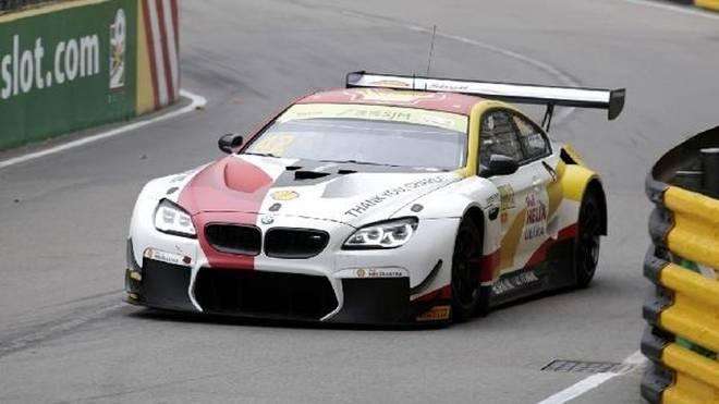 BMW-Fahrer Augusto Farfus gewann das Qualifyingrennen zum GT-Weltcup