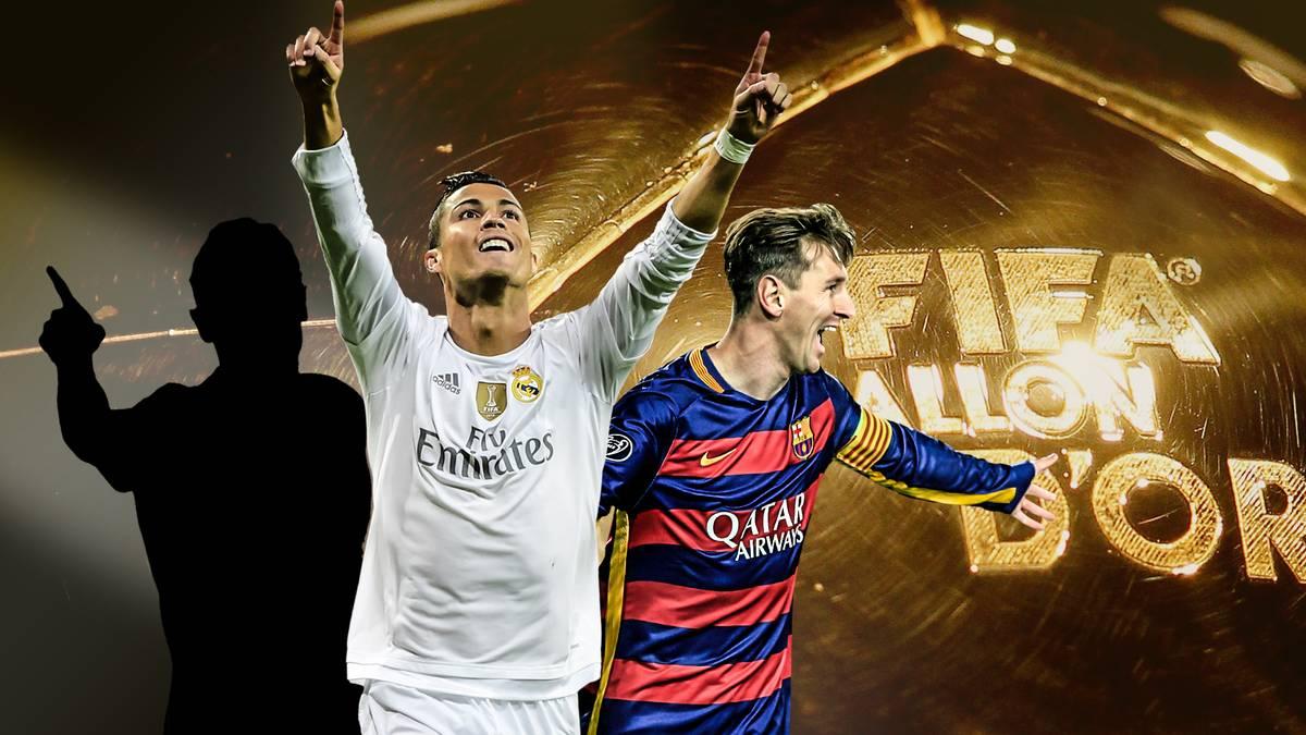 Ronaldo, Messi und Mister X