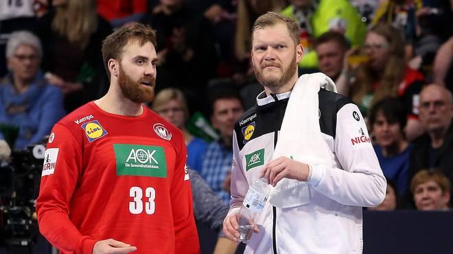 Andreas Wolff (l.) und Johannes Bitter stehen beim deutschen Nationalteam in der Kritik