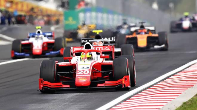 Mick Schumacher sammelte am Wochenende zwei Podestplätze in der Formel 2