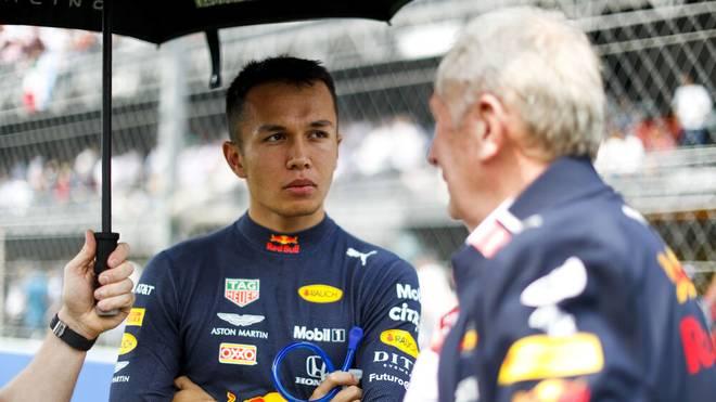 Helmut Marko (r.) relativiert seine Aussage zu Lewis Hamilton