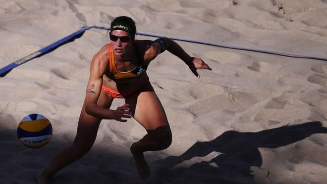 Chantal Laboureur verpasst mit ihrer Partnerin Sandra Ittlinger das Olympiaticket