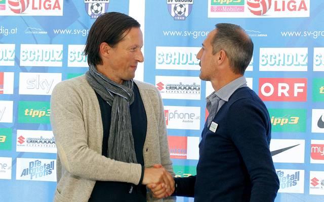 Adi Hütter und Roger Schmidt kennen sich aus der österreichischen Bundesliga