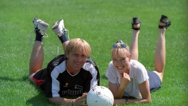 Alice Javad und Ansgar Brinkmann (beide Eintracht Frankfurt)