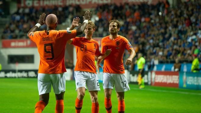 Die Niederlande schnappen sich den nächsten Sieg und blieben in der EM-Qualifikation an Deutschland dran