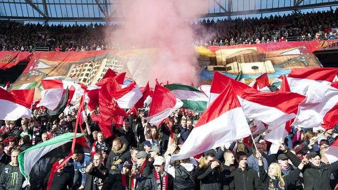 Fans beim Spiel zwischen Feyenoord und Ajax
