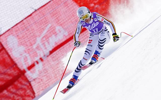 Kira Weidle landete in Cortina nur 0,12 Sekunden hinter einem Podestplatz