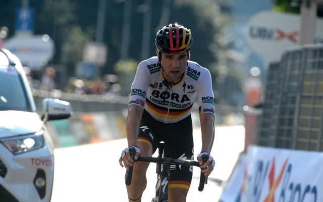 Maximilian Schachmann beendete die 12. Etappe als Sechster