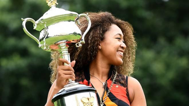 Naomi Osaka gewann den Titel bei den Australian Open