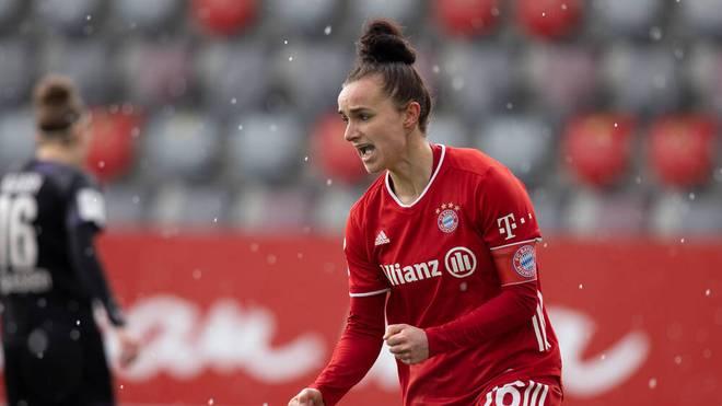 Lina Magull ist Kapitänin des FC Bayern