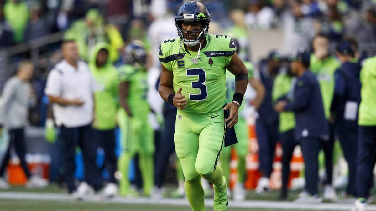 Die Seattle Seahawks müssen lange auf Quarterback Russell Wilson verzichten