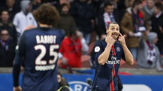 Zlatan Ibrahimovic schnürte für Paris einen Doppelpack