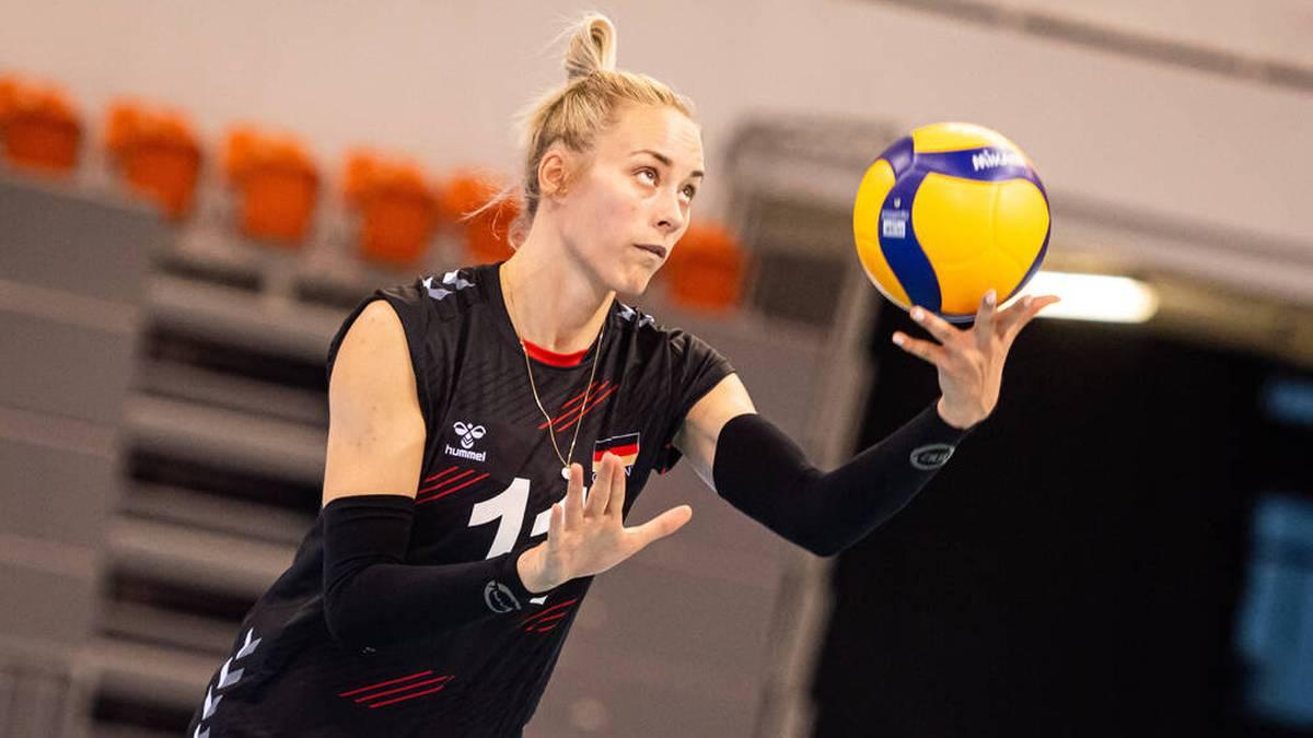 Louisa Lippmann ist zurück in der deutschen Volleyball-Nationalmannschaft