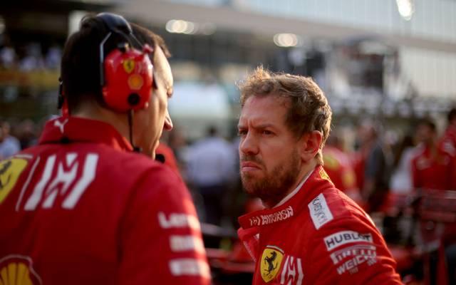 Sebastian Vettel belegte in Abu Dhabi nur Rang fünf