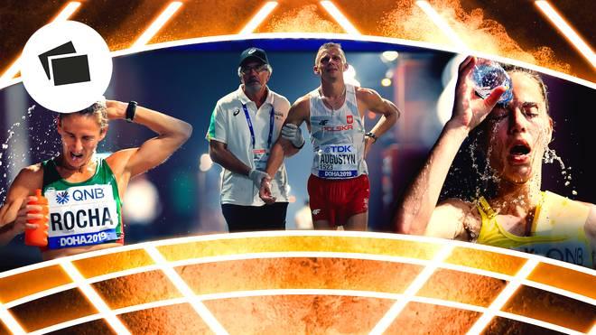 """Die Leichtathletik-WM fordert einige """"Hitzeopfer"""""""