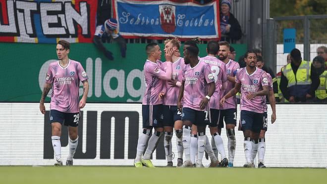 Der Hamburger SV rangiert auf Platz zwei der Tabelle