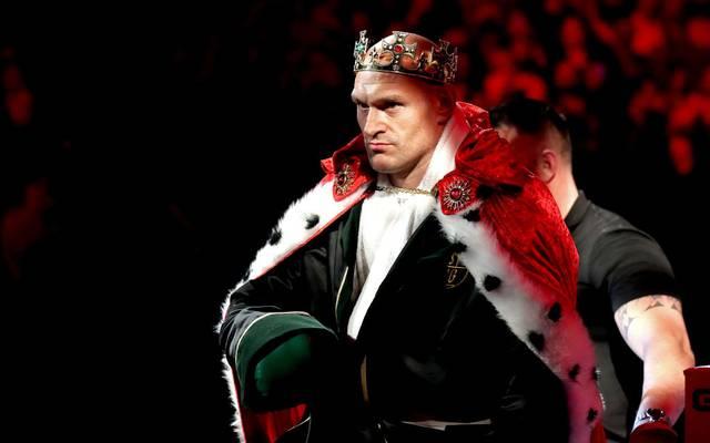Tyson Fury, der Gypsy King