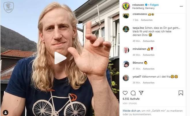 Mikael Appelgren ist wieder gesund. Dies verkündet der Schwede via Instagram