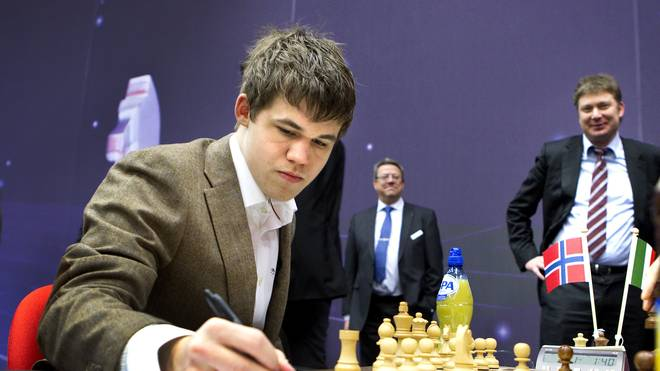 Norwegian chess player Magnus Carlsen wi