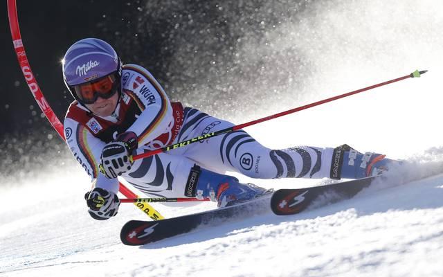 Viktoria Rebensburg gewann den ersten Riesenslalom der Olympiasaison in Sölden