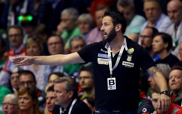 Bennet Wiegert übernahm mit Magdeburg die Tabellenführung