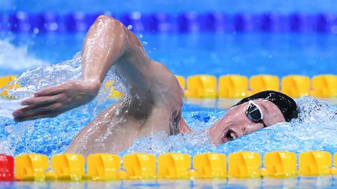 Florian Wellbrock löste das Olympia-Ticket