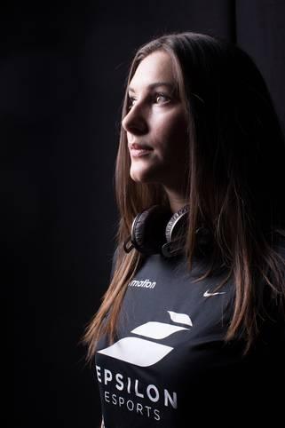 Melania 'Gina' Mylioti war bis vor kurzem Teamcaptain beim CS:GO-Team Unikrn.