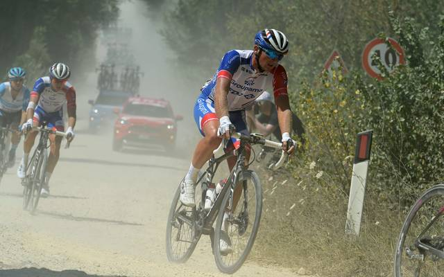 Mickael Delage fährt für das Team Groupama-FDJ