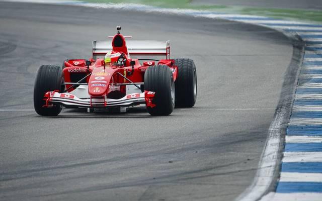 Mick Schumacher fährt in Mugello erneut den F2004 seines Vaters
