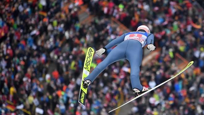 Karl Geiger sprang in Innsbruck auf den achten Platz