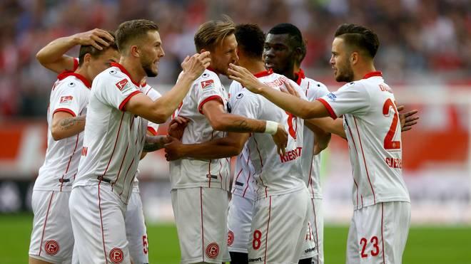 Fortuna Düsseldorf hat in dieser Saison bislang einiges zu Bejubeln