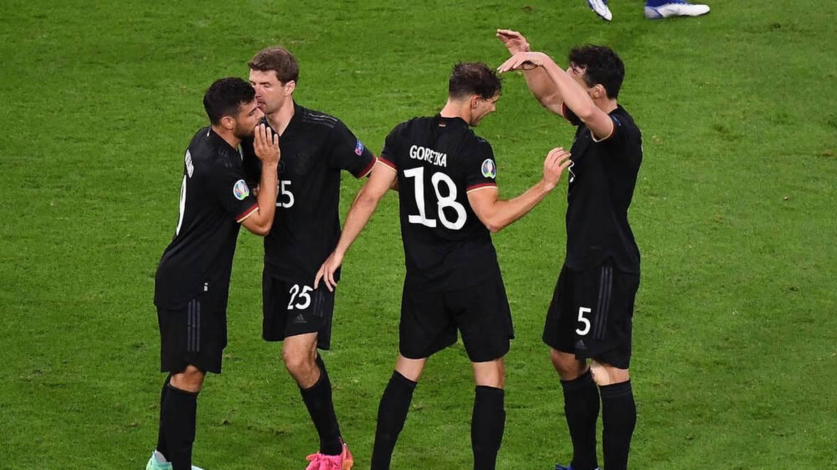 Deutschland zitterte sich durch die Gruppenphase ins Achtelfinale