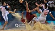 Die Sportarten bei den Europaspielen 2019 in Minsk mit Beachsoccer, Sambo, Boxen, Bogenschießen, Rad, Judo