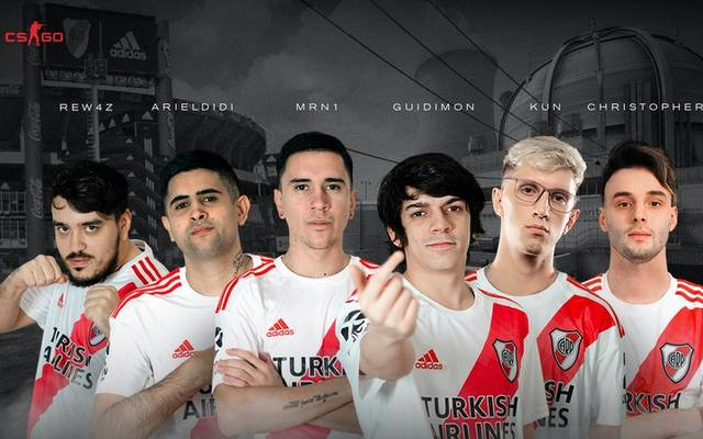 Das ist das erste CS:GO-Team von Fußballclub River Plate