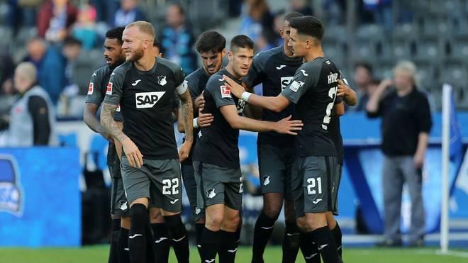 Die TSG Hoffenheim will gegen den SC Paderborn wieder jubeln