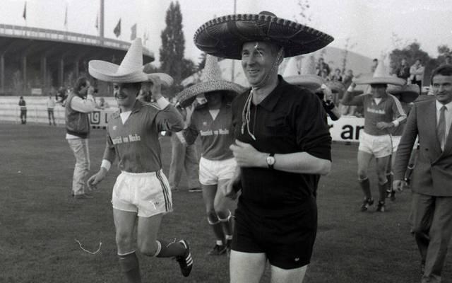 Walter Eschweiler ist eine Schiedsrichter-Legende der Bundesliga