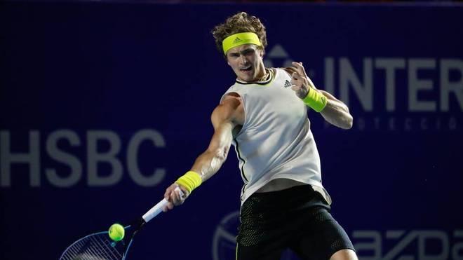 Alexander Zverev steht beim ATP-Turnier in Acapulco im Halbfinale