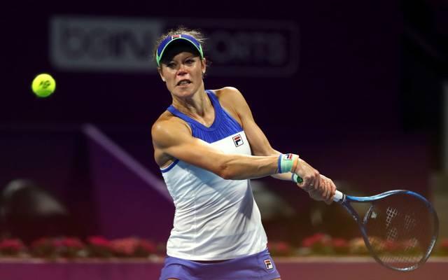 Laura Siegemund ist beim WTA-Turnier in Doha ausgeschieden