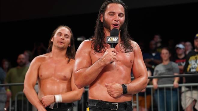 Die Young Bucks Nick (l.) und Matt Jackson gehören zur Führungsriege von AEW