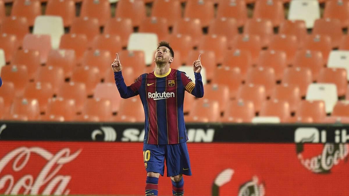 Messi nähert sich Maradona-Rekord