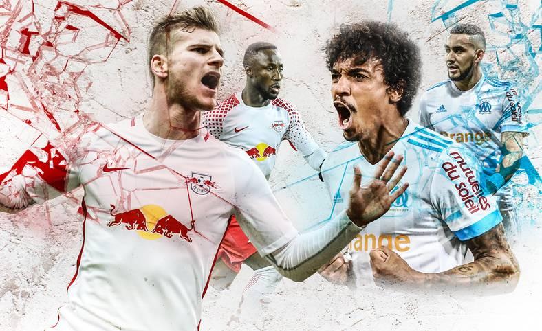 RB Leipzig will im Hinspiel gegen Olympique Marseille die Basis für den Einzug ins Halbfinale der UEFA Europa League legen. Beiden Teams fehlen wichtige Defensivleute, daher kommt es auf die prominent besetzten Offensiven an. SPORT1 macht den Teamvergleich