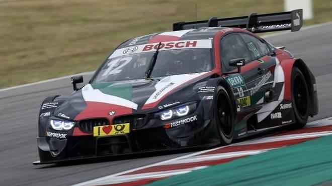 Alex Zanardi sorgte bei seinem DTM-Gaststart für Furore