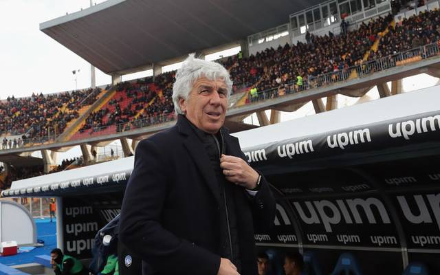 Gian Piero Gasperini ist seit 2016 Trainer von Atalanta Bergamo