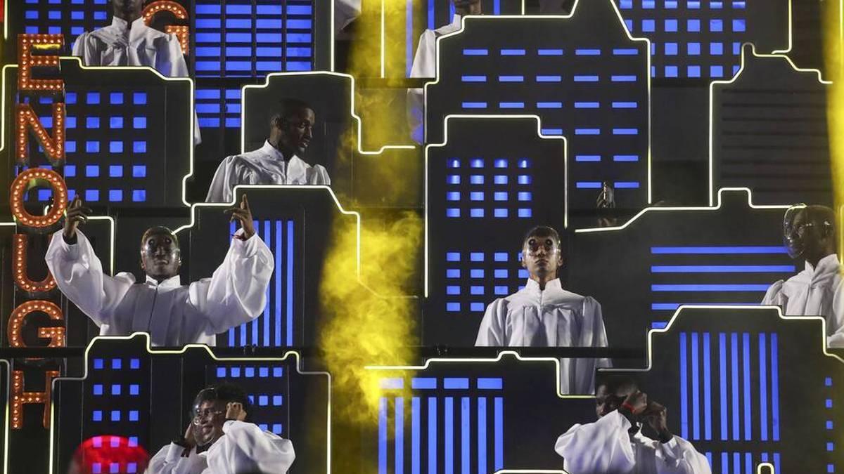 The Weeknd setzte auf aufwendige Bühnenbilder