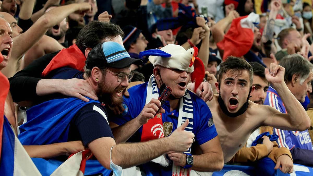Frankreich-Fan beklaut und geschlagen