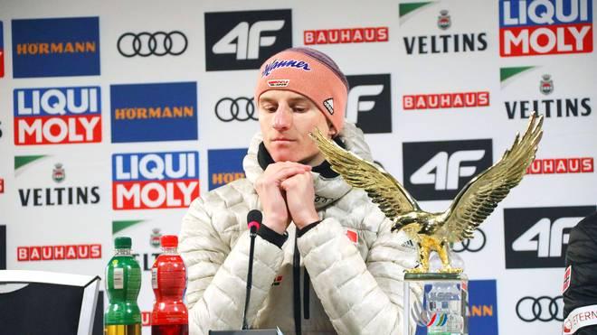 Karl Geiger kämpft bei der Vierschanzentournee um den Gesamtsieg