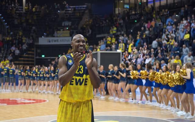 Rickey Paulding spielt seit 2007 in Oldenburg