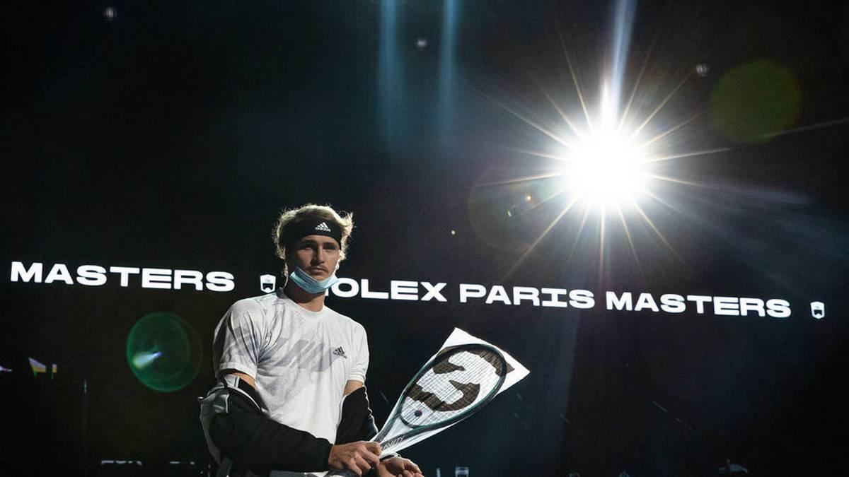 Alexander Zverev ist ab Sonntag bei den ATP Finals in London am Start