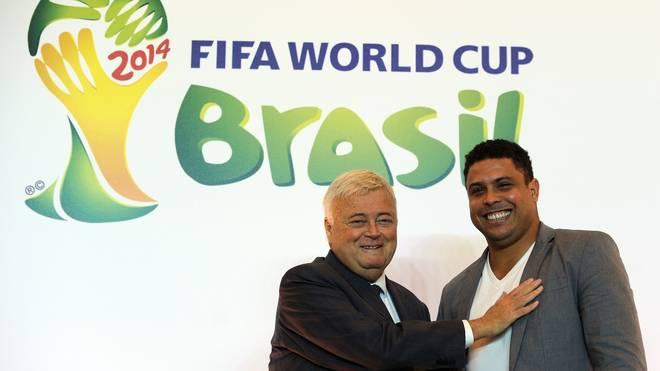 Ricardo Teixeira 2011 mit Ex-Superstar Ronaldo Nazario