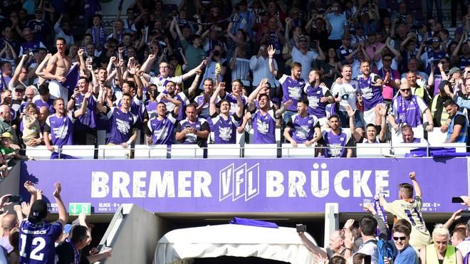 Der VfL Osnabrück feierte am Wochenende den Aufstieg in die 2. Bundesliga